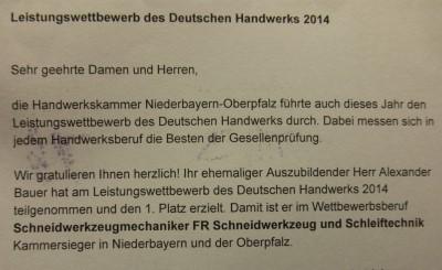Werkzeugschleiferei Neumueller - Kammersiegerfeier 2 300x200