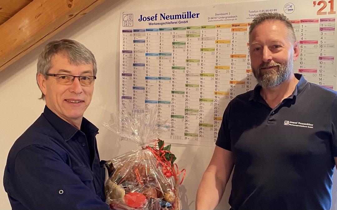 Technischer Leiter feierte 30-jähriges Jubiläum – Herzlichen Glückwunsch!